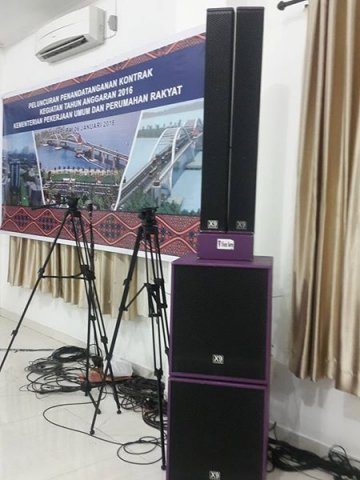 Penyewaan sound system & Lighting di Papua